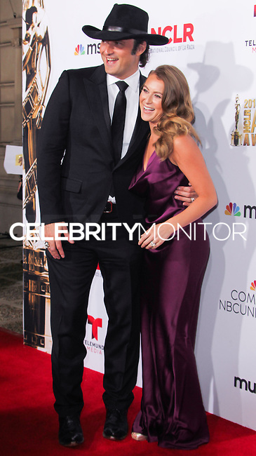 PASADENA, CA, USA - OCTOBER 10: Robert Rodriguez, Alexa PenaVega arrive at the 2014 NCLR ALMA Awards held at the Pasadena Civic Auditorium on October 10, 2014 in Pasadena, California, United States. (Photo by Celebrity Monitor)