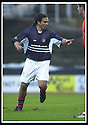 23/11/2002                   Copyright Pic : James Stewart.File Name : stewart-dundee v utd09.CABBALLERO CELEBRATES SCORING THE FIRST..Payments to :-.James Stewart Photo Agency, 19 Carronlea Drive, Falkirk. FK2 8DN      Vat Reg No. 607 6932 25.Office     : +44 (0)1324 570906     .Mobile  : +44 (0)7721 416997.Fax         :  +44 (0)1324 570906.E-mail  :  jim@jspa.co.uk.If you require further information then contact Jim Stewart on any of the numbers above.........