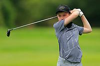 Thompson Gedge (Bangor) during the Connacht U14 Boys Amateur Open, Ballinasloe Golf Club, Ballinasloe, Galway,  Ireland. 10/07/2019<br /> Picture: Golffile | Fran Caffrey<br /> <br /> <br /> All photo usage must carry mandatory copyright credit (© Golffile | Fran Caffrey)