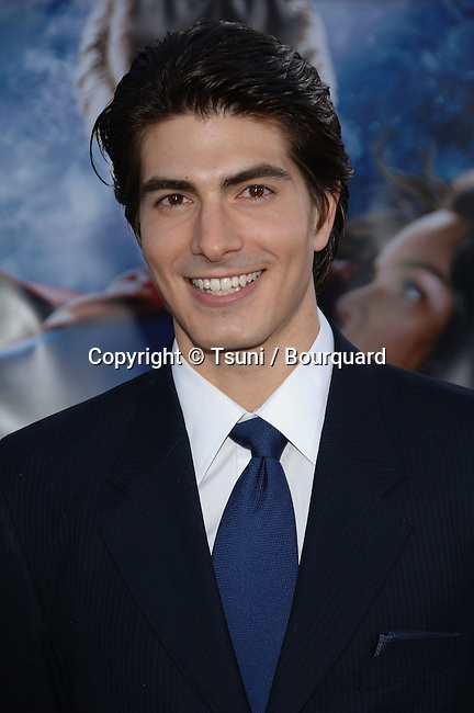 Brandon Routh arriving at the SUPERMAN RETURNS Premiere at the Westwood Village Theatre in Los Angeles. June 21, 2006.