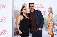 07 March 2019 - Westwood, California - Aijai Grammer, Andy Grammer. &quot;Five Feet Apart&quot; Los Angeles Premiere held at the Fox Bruin Theatre. <br /> CAP/ADM/BT<br /> &copy;BT/ADM/Capital Pictures