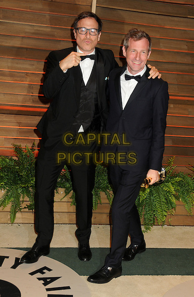 02 March 2014 - West Hollywood, California - David O. Russell, Spike Jonze. 2014 Vanity Fair Oscar Party following the 86th Academy Awards held at Sunset Plaza. <br /> CAP/ADM/BP<br /> &copy;Byron Purvis/AdMedia/Capital Pictures