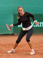 August 17, 2014, Netherlands, Raalte, TV Ramele, Tennis, National Championships, NRTK,  Olga Kalyuzhnaya (NED)<br /> Photo: Tennisimages/Henk Koster