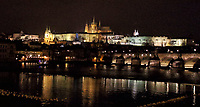 The famous Charles Bridge over the Vitava River, Prague, Czech Republic on February 28th to March 3rd 2018<br /> CAP/ROS<br /> &copy;ROS/Capital Pictures