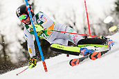 2nd February 2019, Maribor, Slovenia;  Chiara Costazza of Italy in action during the Audi FIS Alpine Ski World Cup Women's Slalom Golden Fox on February 2, 2019 in Maribor, Slovenia