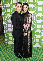 06 January 2019 - Beverly Hills , California - Kieran Culkin, Jazz Charton. 2019 HBO Golden Globe Awards After Party held at Circa 55 Restaurant in the Beverly Hilton Hotel. <br /> CAP/ADM/BT<br /> ©BT/ADM/Capital Pictures