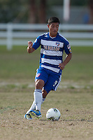 2011 Development Academy Winter Showcase,  Premier Sports Campus in Lakewood, Fla.