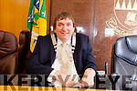 Terry O'Brien elected the new Mayor of Tralee in County Buildings on Monday afternoon.