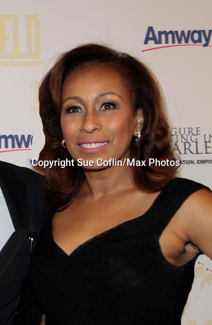 As The World Turns' Tamara Tunie - 10th Annual Gala celebrating Figure Skating in Harlem's 18th year of operations at The Stars 2015 Benefit on April 13, 2015 in New York City, New York honoring Olympic Champion Evan Lysacek. (Photo by Sue Coflin/Max Photos)
