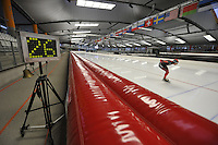 SPEED SKATING: INZELL: 08-12-2015, Max Aicher Arena, werelduurrecord Carien Kleibeuker, ©foto Martin de Jong