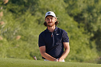 Tommy Fleetwood (ENG) in a bunker on the 7th during the Pro-Am of the Abu Dhabi HSBC Championship 2020 at the Abu Dhabi Golf Club, Abu Dhabi, United Arab Emirates. 15/01/2020<br /> Picture: Golffile | Thos Caffrey<br /> <br /> <br /> All photo usage must carry mandatory copyright credit (© Golffile | Thos Caffrey)