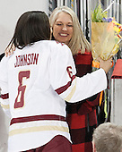 Kaliya Johnson (BC - 6), ? - The Boston College Eagles defeated the visiting Providence College Friars 7-1 on Friday, February 19, 2016, at Kelley Rink in Conte Forum in Boston, Massachusetts.