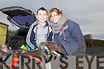 Thomas and Rebecca McCarthy from Newcastlewest at the annual coursing meet last Saturday in Newcastlewest.