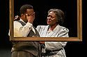 "The West End transfer of the Young Vic production of Arthur Miller's ""Death of a Salesman"", produced by Elliott & Harper Productions and Cindy Tolan, starring Wendell Pierce and Sharon D Clarke, begins its run at the Piccadilly Theatre in London, where it will run until 4th January 2020. Picture shows: Wendell Pierce (Willy Loman), Sharon D Clarke (Linda Loman)."