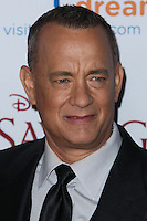 "BURBANK, CA - DECEMBER 09: Tom Hanks arriving at the U.S. Premiere Of Disney's ""Saving Mr. Banks"" held at Walt Disney Studios on December 9, 2013 in Burbank, California. (Photo by Xavier Collin/Celebrity Monitor)"
