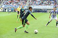 VOETBAL: HEERENVEEN: Abe Lenstra Stadion, 02-09-2012, Eredivisie 2012-2013, SC Heerenveen - Ajax, Eindstand 2-2, Tobias Sana (#19 | Ajax), ©foto Martin de Jong