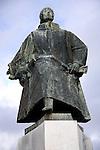 João Álvares Fagundes statue, Viano do Castelo, Portugal