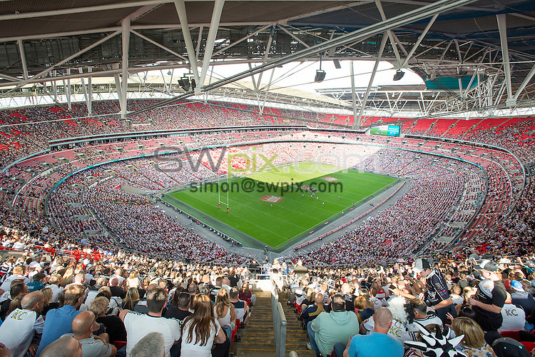 Picture by Allan McKenzie/SWpix.com - 27/08/2016 - Rugby League - Ladbrokes Challenge Cup Final - Hull FC v Warrington Wolves - Wembley Stadium, London, England - The brief, GV, general view of Wembley Stadium.