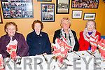 Moyvane Senior  Citizens Party: Attending the Moyvane Senior Citizens party at the Marian Hall, Moyvane on Sunday last wereMai Carr, Nora Kennelly, Teresa Hanrahan & Phyliss O'Connor.