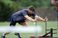 Paul Grant of Bath Rugby in action. Bath Rugby pre-season S&C session on June 22, 2017 at Farleigh House in Bath, England. Photo by: Patrick Khachfe / Onside Images