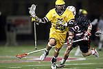 Orange, CA 02/28/09 -  Michael Bartomioli (Michigan #23) and Chas Stiegler (Chapman #12)