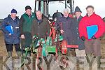 PLOUGHING: getting their ploufgh ready ffor the Ballyheigue Ploughing competition on Sunday in Ballyheigue, L-r: Michael Lenihan, Michael P Donegan, Joseph Leen, Jimmy Donegan, Tom Lawlor and Willie O'Donovan (ballyheigue & Causeway).