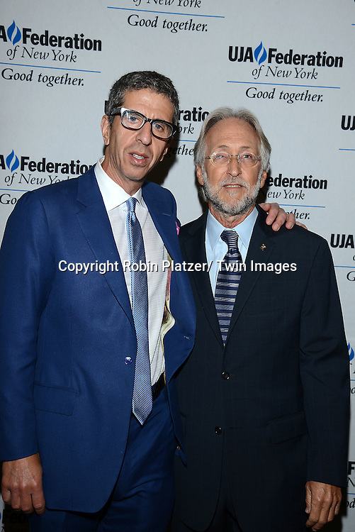 Jason Flom and Neil Portnow attends the UJA-Federation of New York's Music Visionary of the Year Luncheon on June 25, 2014 at the Pierre Hotel in New York City. Neil Portnow, President/CEO of the Recording Academy was the honoree.