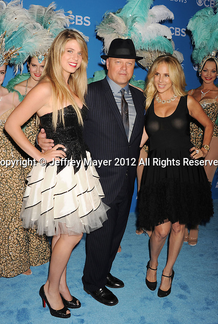 WEST HOLLYWOOD, CA - SEPTEMBER 18: Autumn Chiklis, Michael Chiklis and Michelle Moran Chiklis arrive at the CBS 2012 fall premiere party at Greystone Manor Supperclub on September 18, 2012 in West Hollywood, California.