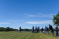 J.T. Poston (USA) watches his tee shot on 3 during Round 4 of the Valero Texas Open, AT&amp;T Oaks Course, TPC San Antonio, San Antonio, Texas, USA. 4/22/2018.<br /> Picture: Golffile | Ken Murray<br /> <br /> <br /> All photo usage must carry mandatory copyright credit (&copy; Golffile | Ken Murray)