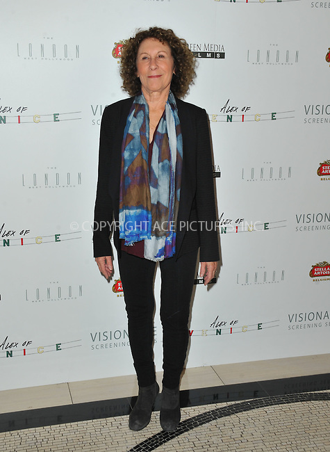 WWW.ACEPIXS.COM<br /> <br /> April 8 2015, LA<br /> <br /> Rhea Perlman arriving at the premiere of 'Alex Of Venice' at The London West Hollywood on April 8, 2015 in West Hollywood, California. <br /> <br /> By Line: Peter West/ACE Pictures<br /> <br /> <br /> ACE Pictures, Inc.<br /> tel: 646 769 0430<br /> Email: info@acepixs.com<br /> www.acepixs.com