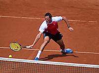 08-07-13, Netherlands, Scheveningen,  Mets, Tennis, Sport1 Open, day one, Stephan Fransen<br /> <br /> <br /> Photo: Henk Koster