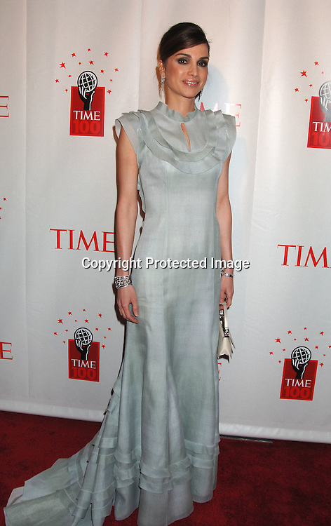 Queen Rania of Jordan ..at Time Magazine's 100 Most Influential People ..Dinner on May 8, 2006 at Jazz at Lincoln at The Time Warner Center. ..Robin Platzer, Twin Images