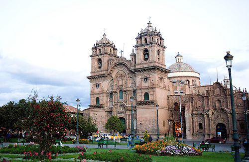 BUILT IN 1733, THIS CATHOLIC CHURCH IS IN CUZCO,PERU