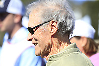Clint Eastwood team leader at the 3M Celebrity Challenge during Wednesday's Pracitce Day of the 2018 AT&amp;T Pebble Beach Pro-Am, held over 3 courses Pebble Beach, Spyglass Hill and Monterey, California, USA. 7th February 2018.<br /> Picture: Eoin Clarke | Golffile<br /> <br /> <br /> All photos usage must carry mandatory copyright credit (&copy; Golffile | Eoin Clarke)