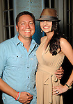 "Tray and Emelie Black at the ""A Night in Havana""  benefit at Concepcion on W. Alabama  Saturday July 21, 2012.(Dave Rossman/For the Chronicle)"