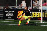 Rochester, NY - Saturday Aug. 27, 2016: Sabrina D'Angelo prior to a regular season National Women's Soccer League (NWSL) match between the Western New York Flash and the Houston Dash at Rochester Rhinos Stadium.