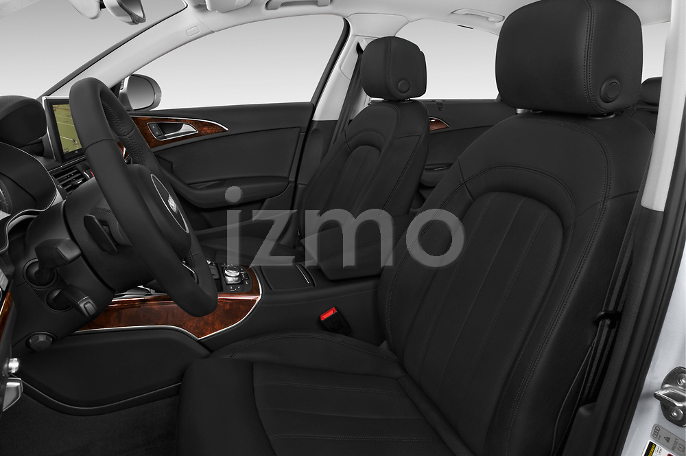 Front seat view of 2016 Audi A6  TDI quattro tiptronic Prestige  4 Door Sedan front seat car photos