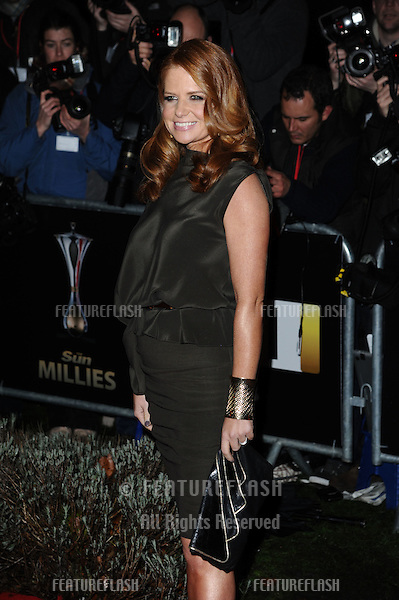 Patsy Palmer arriving for The Sun Military Awards 2011 at the Imperial war Museum, London. 19/12/2011 Picture by: Steve Vas / Featureflash