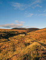 BNPS.co.uk (01202 558833)<br /> Pic: GeoffAllan/BNPS<br /> <br /> Allt Scheicheachan Bothy above Blair Atholl in the western Cairngorms.<br /> <br /> Wilderness walks - new book takes you down paths less travelled in the beautiful Scottish highlands.<br /> <br /> The stunning photos reveal Scotland's best remote walks, and also provide a rudimentary roof over your head at the end of the day. <br /> <br /> Geoff Allan has spent over 30 years travelling the length and breadth of the scenic country, passing through idyllic and untouched landscapes.<br /> <br /> The routes he has selected feature secret beaches, secluded glens, hidden caves and mountains.<br /> <br /> They also include bothies - remote mountain huts - which provide overnight shelter in the wilderness.<br /> <br /> Geoff has listed his top 28 trails complete with GPS maps and descriptions in his book Scottish Bothy Walks.