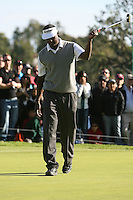 02/20/11 Pacific Palisades, CA: Vijay Singh during the final round of the Northern Trust Open held at the Riviera Country Club.Baddeley won the Tournament by two strokes over Singh.