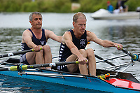 Race: 132  MasE.2x  Final<br /> <br /> Peterborough Summer Regatta 2018 - Saturday<br /> <br /> To purchase this photo, or to see pricing information for Prints and Downloads, click the blue 'Add to Cart' button at the top-right of the page.