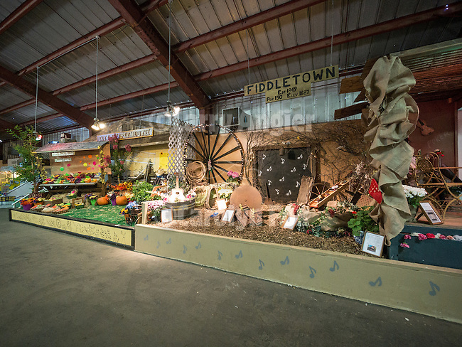 Day 2 of the Amador County Fair, Plymouth, Calif.<br /> <br /> Plymouth and Middletown booth displays