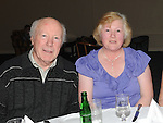 Pat and Joan Balfe pictured at Tommy and Philomena Martin's 50th wedding anniversary in the Boyne Valley hotel. Photo: Colin Bell/pressphotos.ie