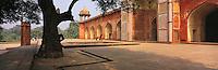 © David Paterson.Sikander (Sikandra), the burial-place of the Moghul emperor Akhbar, near Agra, India...Keywords: moghul, moghal, Islamic, tomb, memorial, burial, mausoleum, Sikander, Sikandra, Agra, Akhbar, India, timeless