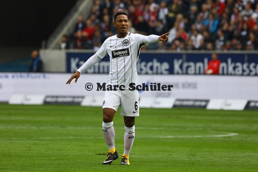 Jonathan de Guzman (Eintracht Frankfurt) - 16.09.2017: Eintracht Frankfurt vs. FC Augsburg, Commerzbank Arena