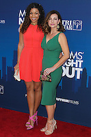 "HOLLYWOOD, LOS ANGELES, CA, USA - APRIL 29: Jordin Sparks, Shari Rigby at the Los Angeles Premiere Of TriStar Pictures' ""Mom's Night Out"" held at the TCL Chinese Theatre IMAX on April 29, 2014 in Hollywood, Los Angeles, California, United States. (Photo by Xavier Collin/Celebrity Monitor)"