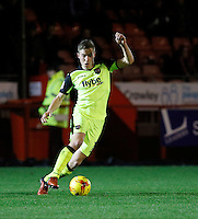 Exeter City's Jack Stacey in action during the Sky Bet League 2 match between Crawley Town and Exeter City at Broadfield Stadium, Crawley, England on 28 February 2017. Photo by Carlton Myrie / PRiME Media Images.