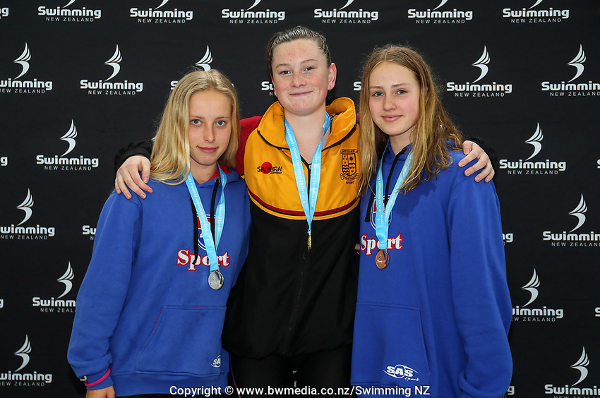 New Zealand Secondary Swimming Championships, Water World, Hamilton, Sunday 15 September 2019. Photo: Simon Watts/www.bwmedia.co.nz/SwimmingNZ