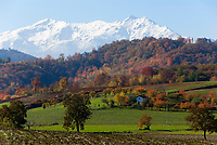 Italien, Piemont, Provinz Cuneo, malerische Herbstlandschaft, Alpi Marittime (Seealpen) | Italy, Piedmont, province Cuneo, picturesque autumn landscape, Alpi Marittime (Maritime Alps)