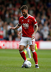 Danny Fox of Nottingham Forest during the Championship match at the City Ground Stadium, Nottingham. Picture date 30th September 2017. Picture credit should read: Simon Bellis/Sportimage